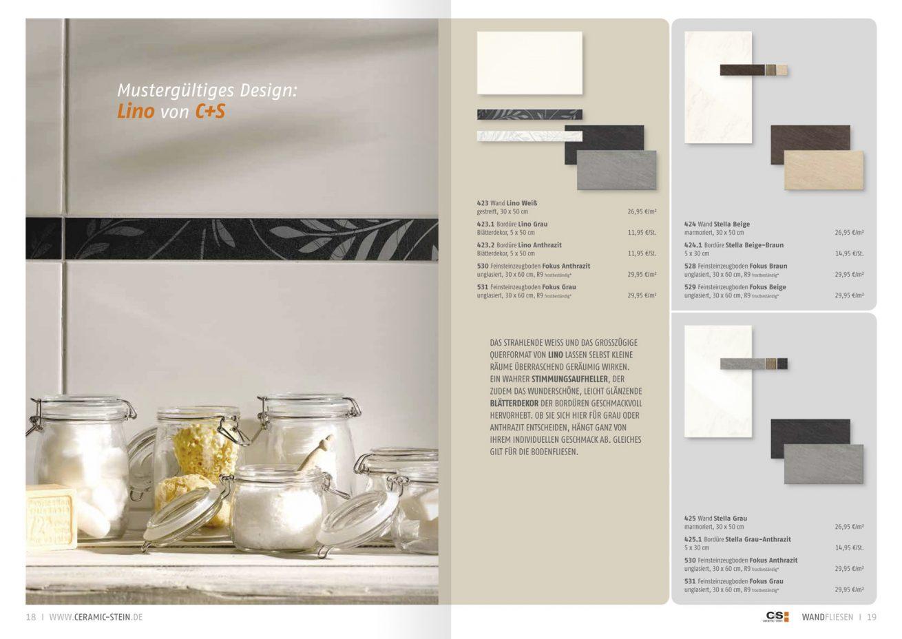 Ceramic + Stein Katalog Still Küche